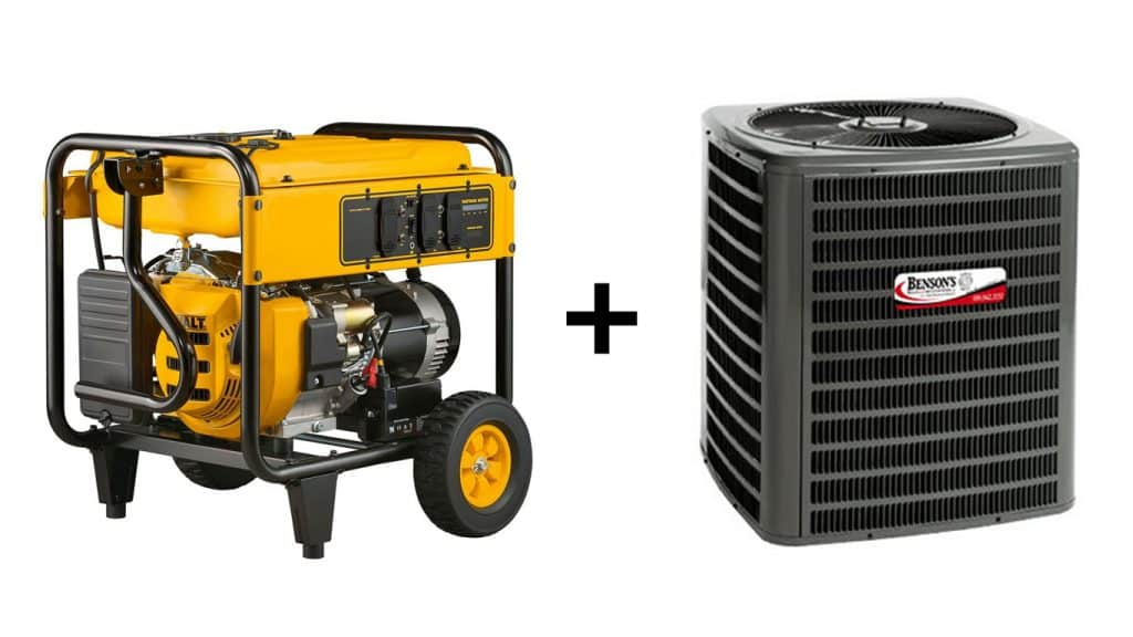 Generators and AC Units: What you need to know - Benson's