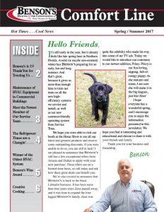 Bens 1499 Newsletter Spring Summer 2017v3 1