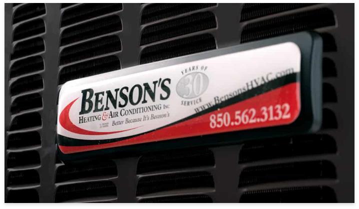 Bensons Hvac Close Up