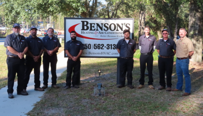 Bensons Team Pic Commercial Esa