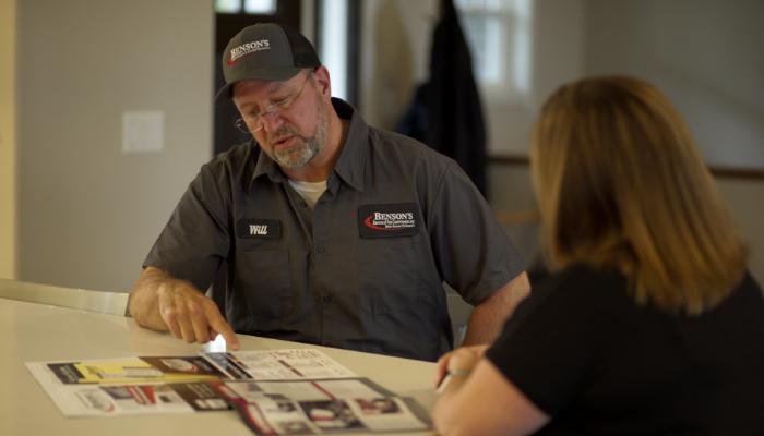 Bensons Tech Working With Customer Options